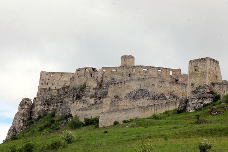 szepesi vár Szlovákiában
