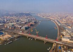 Áprilistól már vonatok közlekedhetnek az új vasúti hídon